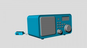 rendered radio