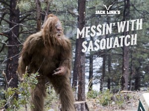 I want Swanson and Teddy to be hunting Big Foot.
