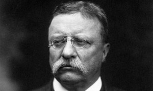 Teddy Roosevelt is one of my operators. I am going to be putting his mustache and glasses on the vehicle. It will also be named the Bully 2000 because one of Teddy's bully pulpit.