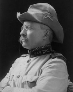 I am also going to incorporate his hat from the Rough Riders.
