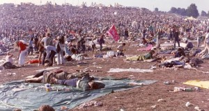 Woodstock crowd. This populated area of people ravenous for music with little regard to sanitation was the primary crowd I was anticipating would accost the vehicle.